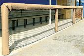 """Fisher Baseball 120"""" Grommeted Rail Padding"""