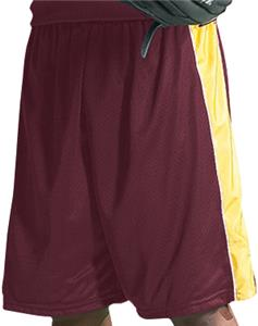 MAROON/GOLD/WHITE