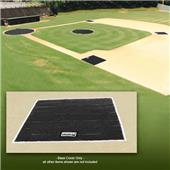 Fisher Baseball 6 oz. Poly 10' Sq. Base Covers