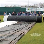 Fisher Baseball Field Cover Roll Tubes