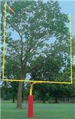 "Bison Collegiate Gooseneck 72"" Football Goalpost"
