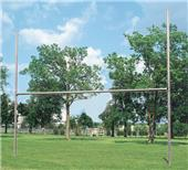 "Bison H-Style 3 1/2"" Galvanized Football Goalposts"