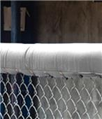 Fisher Baseball 10' Chain Link Fence Top Padding