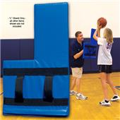 "Fisher Basketball ""L"" Shield Training Aids"