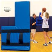 "Fisher Basketball ""L"" Shield Training Aids"