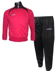 RED/BLACK JACKET W/BLACK PANTS
