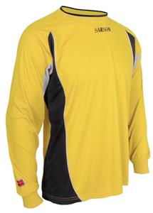YELLOW/BLACK/GREY PIPING & INSERTS UNDER ARMS