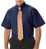 Blue Generation SS Fine Line Peached Twill Shirts