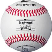 Dixie Youth Approved CDL-40 Category 3 Baseballs