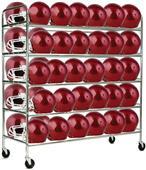 Champion Sports Football Helmet Cart - Holds 60
