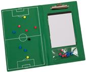 Champion Sports Magnetic Soccer Clipboard Set