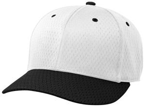 (COMBO) WHITE CROWN/BLACK VISOR