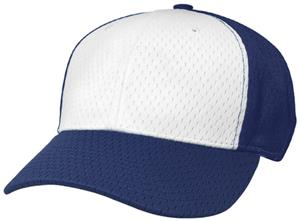 (ALTERN.) WHITE FRONT PANEL/NAVY HAT