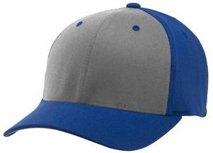 (COMBO) BLACK CROWN/RED VISOR