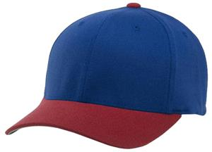 (COMBO) ROYAL CROWN/RED VISOR