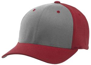 (ALTERN.) GREY FRONT PANEL/RED PANELS & VISOR