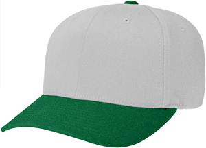 (COMBO) GREY CROWN / DARK GREEN VISOR