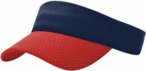 (COMBO) NAVY CROWN/RED VISOR (BILL)
