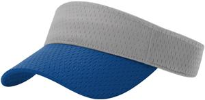(COMBO) GREY CROWN/ROYAL VISOR (BILL)