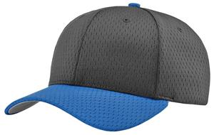 (COMBO) GREY CAP/RED VISOR