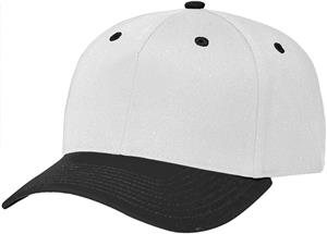 (COMBO) WHITE CROWN / BLACK VISOR