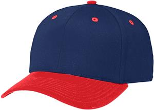 (COMBO) NAVY CROWN / RED VISOR