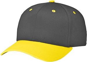 (COMBO) BLACK CROWN / GOLD VISOR