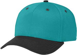 (COMBO) BLUE TEAL CROWN / BLACK VISOR