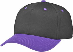 (COMBO) BLACK CROWN / PURPLE VISOR