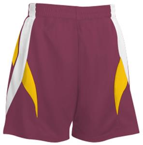 MAROON/WHITE/GOLD