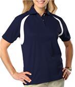 Blue Generation Raglan SS Wicking Polo Shirt