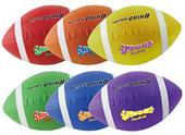Champion Sports Super Squeeze Football Set of 6