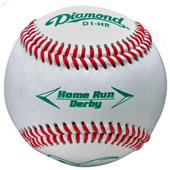 Diamond Home Run Derby Leather Baseballs