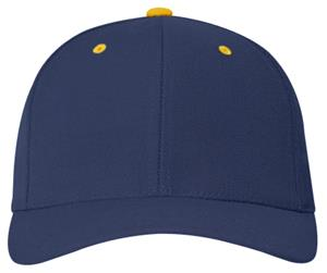 NAVY/GOLD - CONTRASTING COLORS