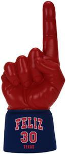 SCARLET HAND/NAVY JERSEY SLEEVE