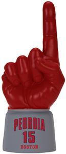 SCARLET HAND/GREY JERSEY SLEEVE