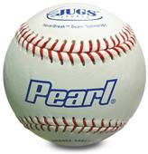 Jugs PEARL Leather Baseballs DZ-w/Bucket Option