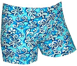 FLORAL SWIRL BLUE