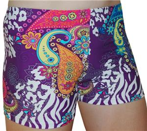PAISLEY ZEBRA PURPLE