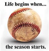 Life Begins... Baseball tshirts