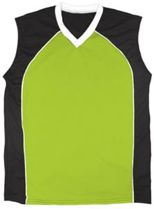 44 - NEON GREEN/BLACK/WHITE