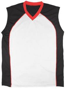 24 - WHITE/BLACK/RED