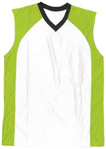 44 - NEON GREEN/WHITE/BLACK