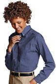 Edwards Womens Easy Care Poplin Long Sleeve Shirts