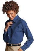 Edwards Womens Easy Care Poplin Long Sleeve Shirts