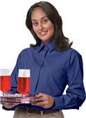 Edwards Womens Long Sleeve Cafe Shirt