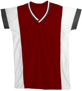 14 - MAROON/WHITE/BLACK
