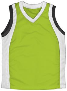 44 - NEON GREEN/WHITE/BLACK