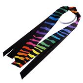 Red Lion Rainbow Zebra Ribbon Ponytail Streamers