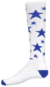 WHITE/ROYAL STARS